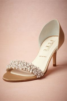 fashion, beds, wedding shoes, formal shoe, bride handmade accessories, oyster bed, bed dorsay, bridal shoes, bhldn shoes