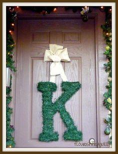 wreath letter