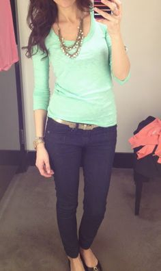 like this color shirt for spring