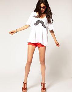 moustache:)