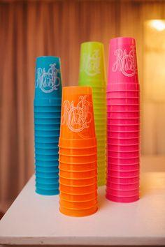 monogram cups