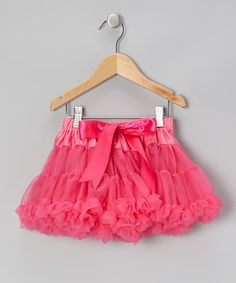 I need a granddaughter stat! Hot Pink Pettiskirt - Infant, Toddler & Girls by Tutus by Tutu