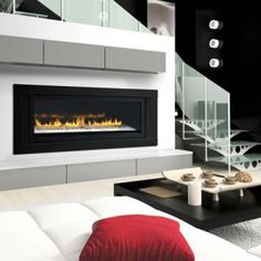 LHD50 Sleek linear design  From its sleek linear design to the amazing choice of contemporary fireplace medias