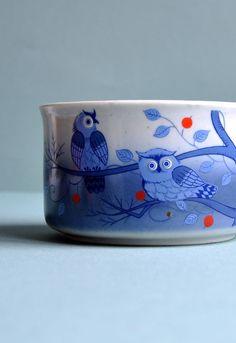 Owl Mug #owl #mug #bowl #ceramic #pottery