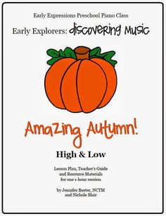 The Teaching Studio: Autumn Time is Here! Giveaway and Special Discount on Amazing Autumn Lesson Plan!