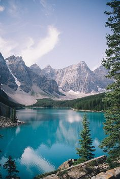 Moraine Lake in Banff National Park, Alberta, Canada  CLICK THE PIC and Learn how you can EARN MONEY while still having fun on Pinterest