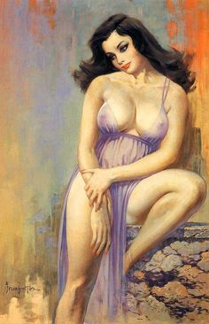 Frank Frazetta - Pin Up- He was the GREATEST!