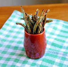 "Parmesan Green Bean ""Fries"""