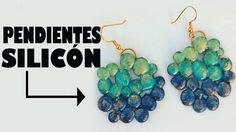 PENDIENTES DE SILICÓN hot silicone earrings MANUALIDADES POR GEORGIO.