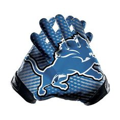 Nike Vapor Jet 2.0 (NFL Lions) Men's Football Gloves - $100