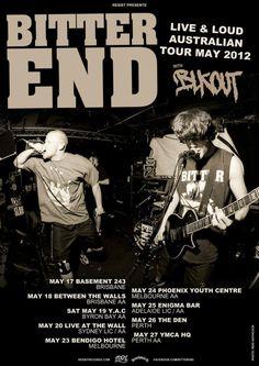 Bitter End Australian Tour - Details at http://www.bombshellzine.com/blog/2012/02/bitter-end-announce-australian-tour-with-blkout/
