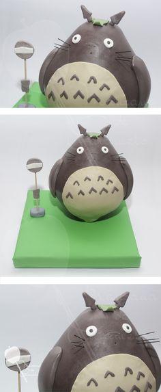 Tarta Totoro. #tarta #totoro #fondant #cake