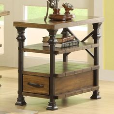 Have to have it. Riverside Lennox Street Chair Side Table - $378 @hayneedle.com