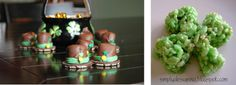 hats, leprechaun hat, boxes, stpatricksday, cooki, st patricks day, st patti, parti, treat