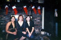 In this 2005 photo, seated left to right, Natalie Brady, mother, Jamie Brady; and sister, Katie Brady enjoy a seat by the fireplace at Jamie Brady's Germantown Hills home. Natalie Brady was murdered over this Memorial Day weekend in Chicago while awaiting trial in Peoria County on heroin-trafficking charges. The murder case remains unsolved.