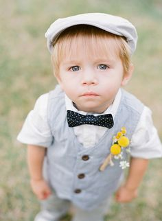 adorable ring bearer, photo by Valentina Glidden Photography