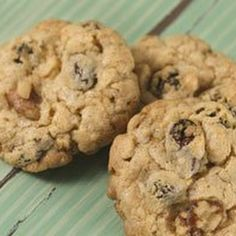 Oatmeal Raisin Cake Mix Cookies