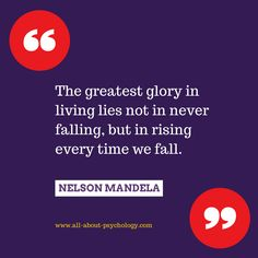 Wonderful Nelson Mandela quote about resilience. #NelsonMandela #resilience