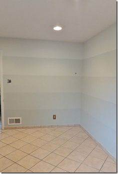 Gray ombre walls