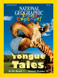 AWESOME National Geographic Online Classroom Magazine for Kindergarten and First Grade!  Listen and Read!