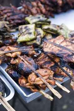 Barbecued Frog (Cambodia)