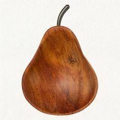Pear Pinch Bowl