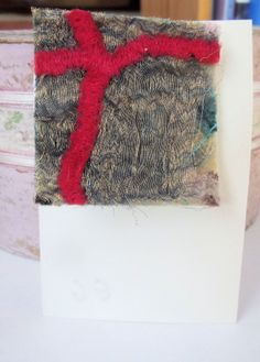 Fiber Art  Brooch needle felted and stitched by artmixter on Etsy, £8.00