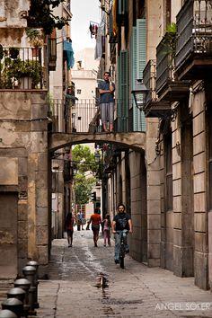 Up & Down. Barcelona, Catalonia