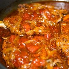 Tomato Pork Loin Chops Allrecipes.com