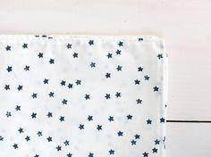 DIY star stamped bandana
