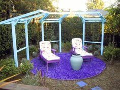 Colorful Garden Seating : Outdoor Retreat : Garden Galleries : HGTV - Home & Garden Television