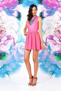 KEEPSAKE WHOLE LOTTA LOVE DRESS PINK $146- CALL SPLASH TO ORDER 314-721-6442