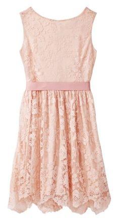 Blush Lace dress.... loving the blush
