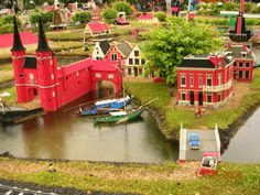"""Landscape for minigolf - with mini architecture models from local society or the city. Se """"Architecture in Education"""" - FaceBook - Frode Svane"""