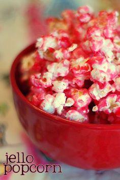 strawberry jello popcorn
