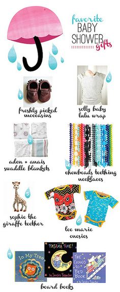 collected blog: favorite baby shower gifts