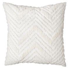 Nate Berkus Euro Chenille Pillow - White - Target - $34.99 - 2 of these