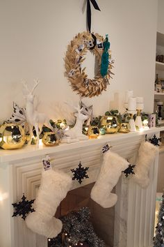 Holiday Mantle from