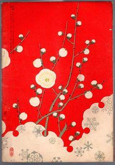 Japanese design books mid 19th century , Meiji period , lithograph prints.