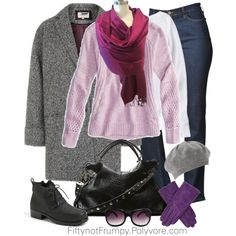 """Errands in the Snow"" by fiftynotfrumpy on Polyvore"