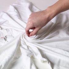 Tie-Dye Swirl Technique Technique | ilovetocreate
