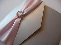 I Do designs Pocketfold Wedding Invitations
