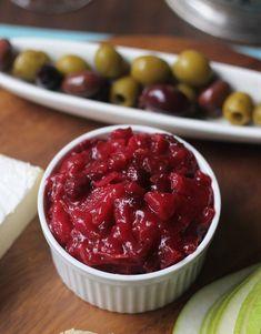 Cranberry Pear Chutn