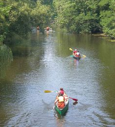 Canoeing at East Rock Park