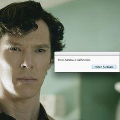 Sherlock's face when John asks him to be his best man. John, you broke Sherlock!