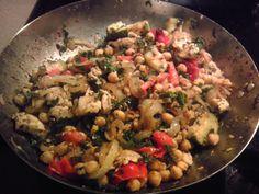 Lemony Chickpea Stir-fry| 101 Cookbooks (I keep a version of this stir ...