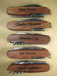 Gift idea for the groomsmen