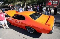 Darren Nickleson's 1969 Pontiac GTO was selected from the #SEMA Show to compete in the 2013 #OUSCI