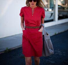 Red Robin Dress