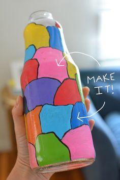 Make Your Own Milk Jar Vase | Meri Cherry Blog milk jar, jar vase, cherri blog, meri cherri